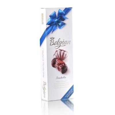 Шоколадные конфеты 'The Belgian' Дары моря (синий бант)