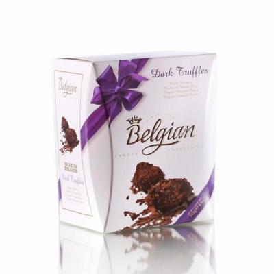 Шоколадные трюфели 'The Belgian' Фантазия горький шоколад в хлопьях фиолетовый