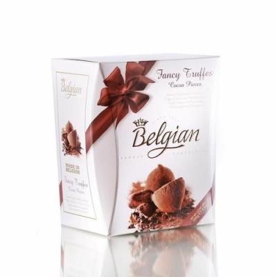 Шоколадные трюфели 'The Belgian' Фантазия (Cocoa pieces) коричневый