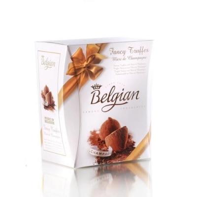Шоколадные трюфели 'The Belgian' Фантазия с ароматом шампанского (Champagne) желтый
