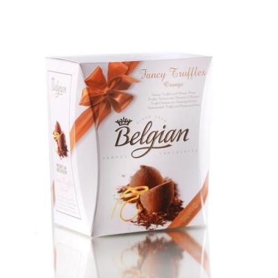 Шоколадные трюфели 'The Belgian' Фантазия с кусочками апельсинов (Orange pieces) оранжевый