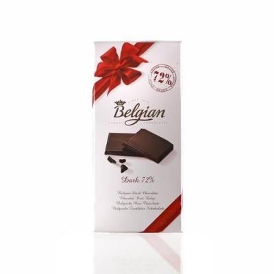 Шоколад 'The Belgian' Горький (какао 72%)