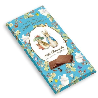 Шоколад 'The World of Peter Rabbit' Молочный Bar Milk Bunny Кролики