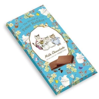Шоколад 'The World of Peter Rabbit' Молочный Bar Milk Cat Котята