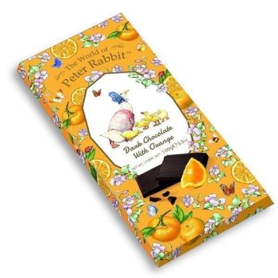 Шоколад 'The World of Peter Rabbit' Тёмный с апельсином Bar Dark Orange Goose Утки