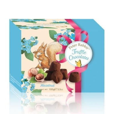 Шоколадные конфеты 'Peter Rabbit' Французские трюфели с дробленым фундуком