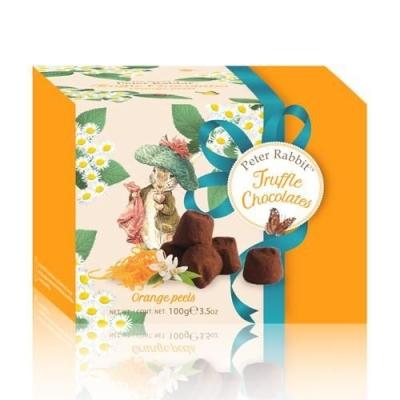 Шоколадные конфеты 'Peter Rabbit' Французские трюфели с апельсиновыми цукатами