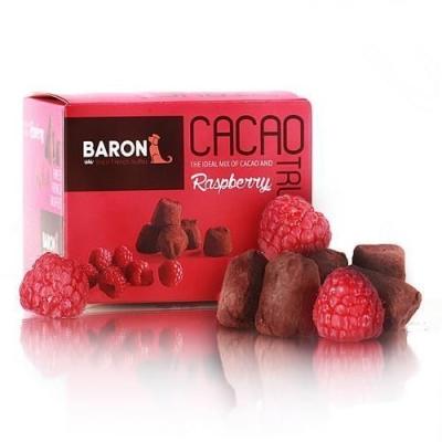 Шоколадные конфеты 'Baron' Французские трюфели со кусочками малины