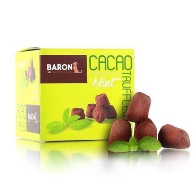 Шоколадные конфеты 'Baron' Французские трюфели с кристаллами мяты