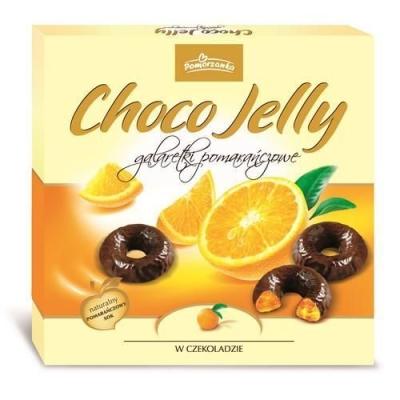 Шоколадный набор 'Pomorzanka' Choco Jelly апельсиновое желе в тёмном шоколаде