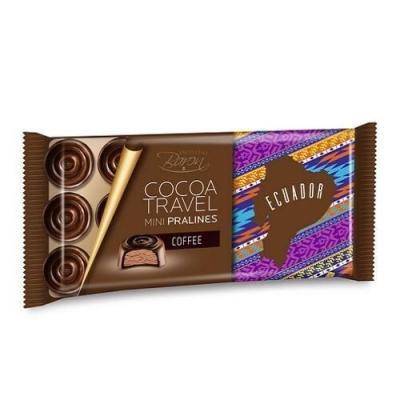 Конфеты 'Baron' из тёмного шоколада с кофейной начинкой Ecuador