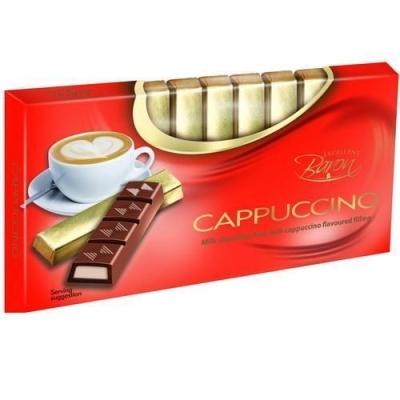 Шоколад молочный 'Baron' с начинкой Капучино