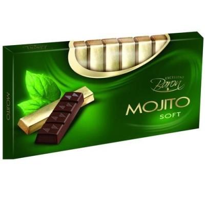 Шоколад тёмный 'Baron' с начинкой Мохито