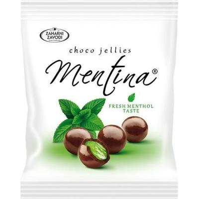 Мармеладно-ментоловые шарики 'Mentina' в темном шоколаде