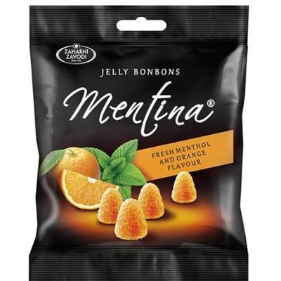 Мармелад жевательный 'Mentina' со вкусом апельсина и ментола