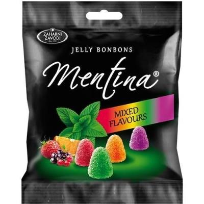 Мармелад жевательный 'Mentina' ассорти с фруктово-ментоловым вкусом