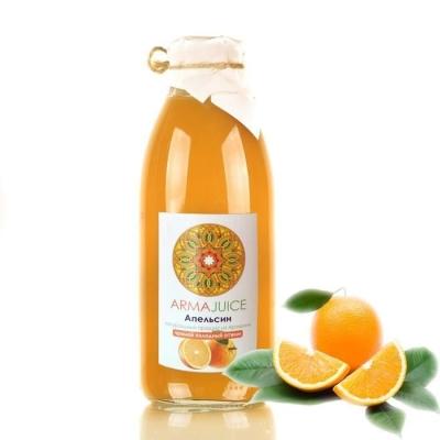 Сок ARMAjuice апельсиновый прямой холодный отжим