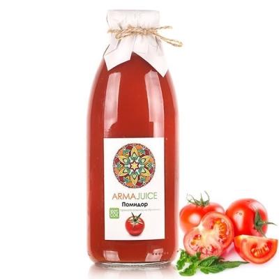 Сок ARMAjuice из помидоров 100% прямой холодный отжим