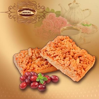 Печенье Инекс Венское брусника