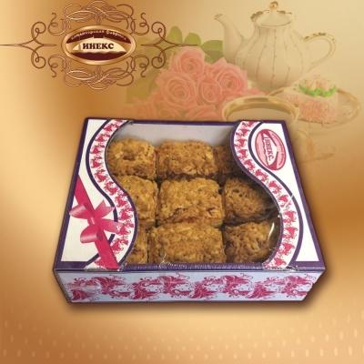 Печенье Инекс Венское вишня