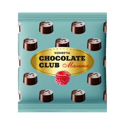 Конфеты Chocolate Club малина