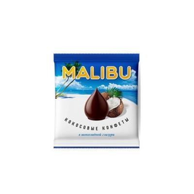 Конфеты Malibu кокосовые в шоколадной глазури
