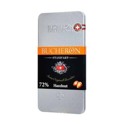 Шоколад Bucheron горький с фундуком ж/б