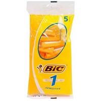 Станки одноразовые BIC 1 Sensitive (5шт.) с одним лезвием