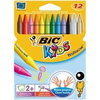 Мелки цветные BIC Plastidecor 12 цветов