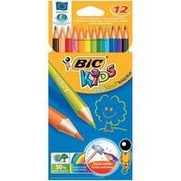 Карандаши цветные BIC пласт. Kids Evolution Illusion 24 цвета