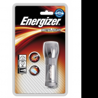 Фонарь Energizer Для дома Metal Light 3AAA 3LED, 21lm., дальн. 16м. (без батарей)