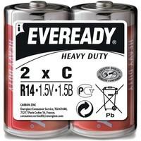 Батарейки  ЭНЕРДЖАЙЗЕР EVEREADY R14 C 1,5V (2шт)