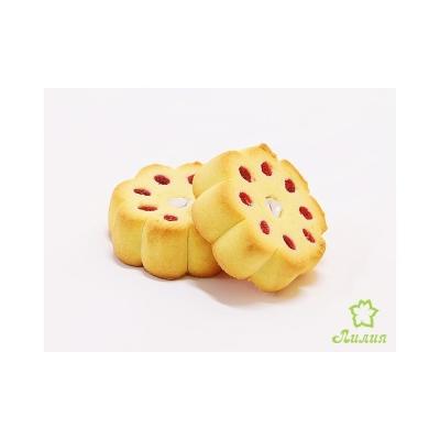 Печенье Лилия Донни и Джанни ваниль с фруктово-сливочной начинкой