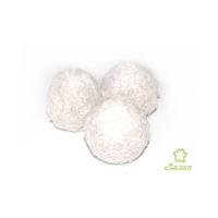 Печенье песочное Лилия Казуми с вареной сгущенкой в кокосовой обсыпке