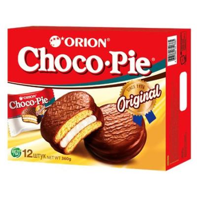 Печенье Чоко Пай прослоенное глазированное