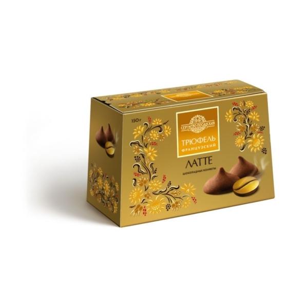 Конфеты Трюфель шоколадный Латте