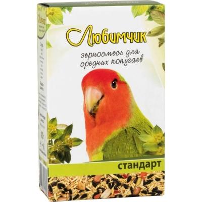 Корм Любимчик для средних попугаев Стандарт