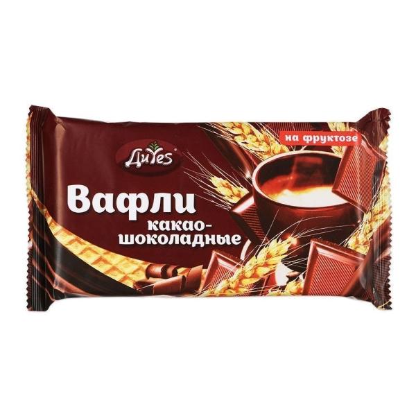 Вафли ДиYes какао-шоколадные на фруктозе