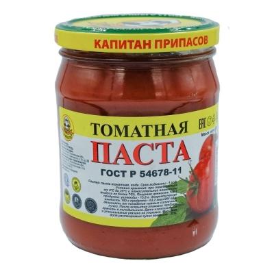 Паста томатная 25 % Капитан припасов, ГОСТ ст.б
