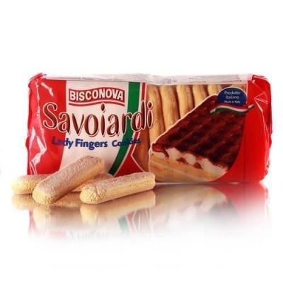Печенье 'Bisconova' Дамские пальчики Тирамису