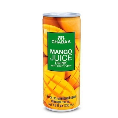 Напиток CHABAA с соком манго с мякотью ж/б