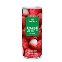 Напиток CHABAA с соком личи ж/б