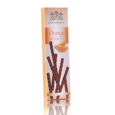 Шоколадные конфеты GBS Палочки из молочного шоколада с ароматом апельсина