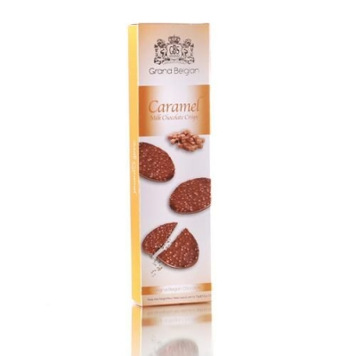 Шоколадные конфеты GBS Медальоны хрустящие из молочного шоколада с ароматом карамели