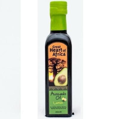 Масло 'Great Hearts of Africa' авокадо со вкусом лимона