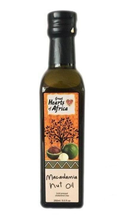 Масло 'Great Hearts of Africa' ореха макадамии