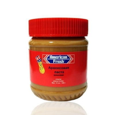 Паста арахисовая American Fresh CREAMY кремовая