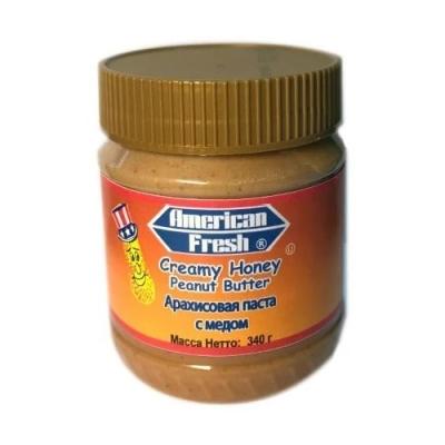 Паста арахисовая American Fresh with HONEY с медом