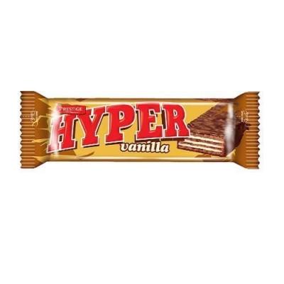 Вафли 'HYPER' ванильные в какао глазури (Gold)
