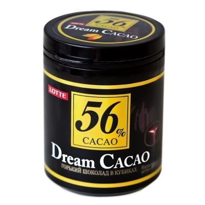 Горький шоколад в кубиках 'Дрим Какао' какао 56%